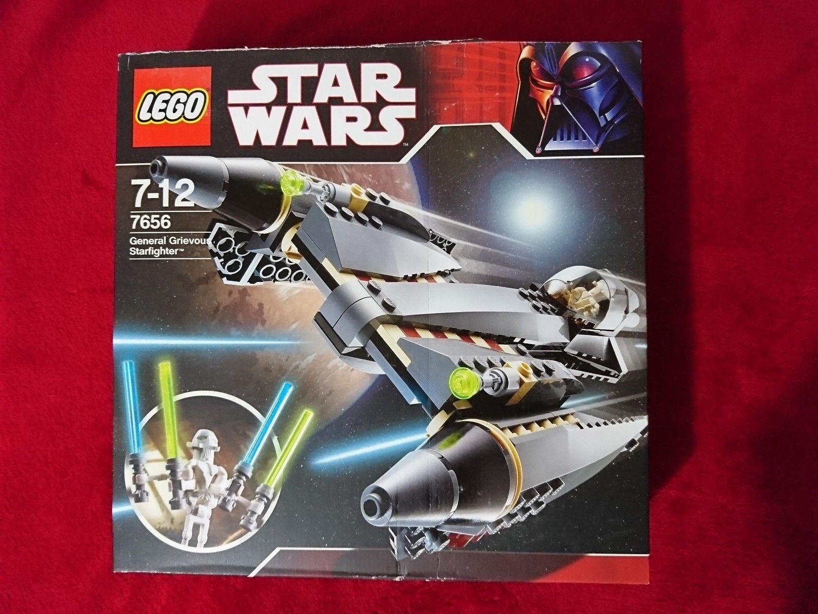STAR WARS LEGO  Generale Grievous Starfighter  7656 30th ANNIVERSARIO SCATOLA DANNEGGIATA
