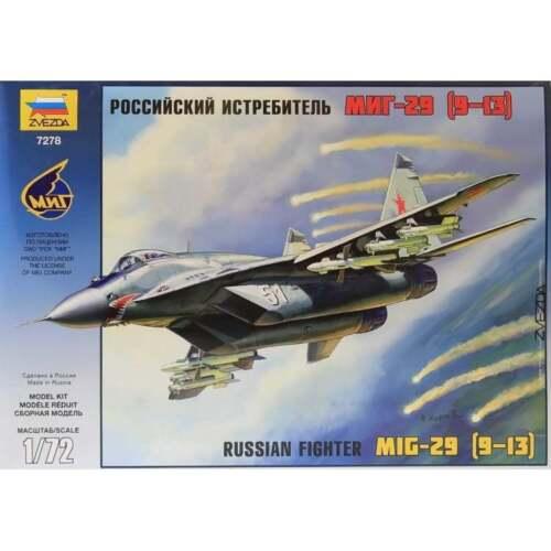 9-13 Zvezda 1:72 Kit Z7278 MiG-29C