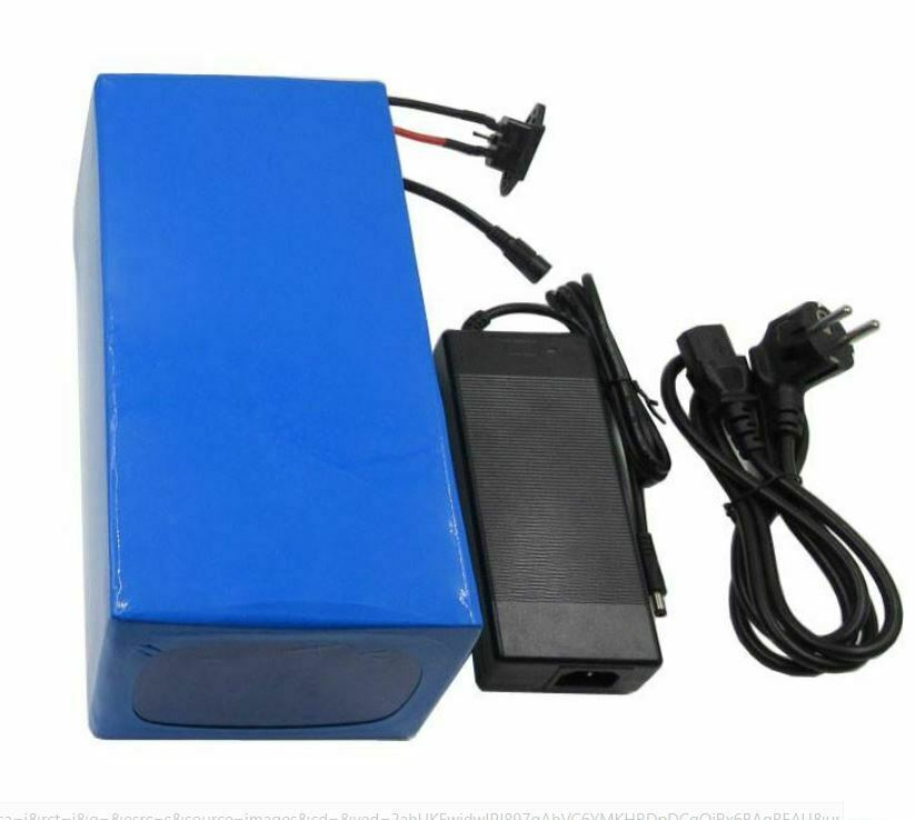 72V 60ah Li-ion Rechargeable Ebike Battery Pack & Charger NEW