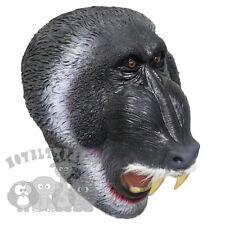 Latex Full Head Animals African Black Baboon Monkey Fancy Props Carnival Masks