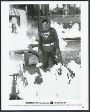 ☆ Superman Christopher Reeve LOT 2 Original 1983 Promo Photos Superman III