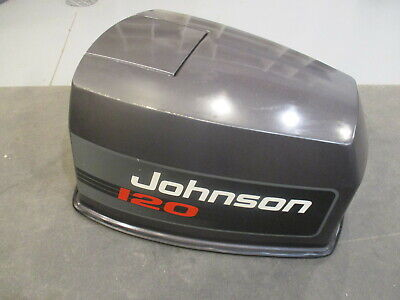 Evinrude Johnson 120 HP V4 Motor Cowl Engine Cover Top ...