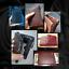 Men-Women-Genuine-Leather-Cowhide-Bifold-Wallet-Holder-Credit-Card-Retro-Purse miniature 7