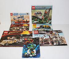 LEGO Instruction Manual Lot Of 7 Star Wars 8015 7620 7682 4891 7573 8632 6899