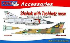 AML Models 1/48 ISRAELI SHAHAK FIGHTER w/TASHBETZ NOSE Resin & PE Conversion Kit