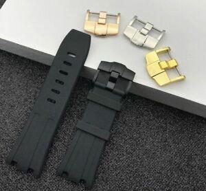 Silicone-Rubber-Watchband-28mm-For-AP-Audemars-Piguet-Bracelet-Pin-Buckle-Sports