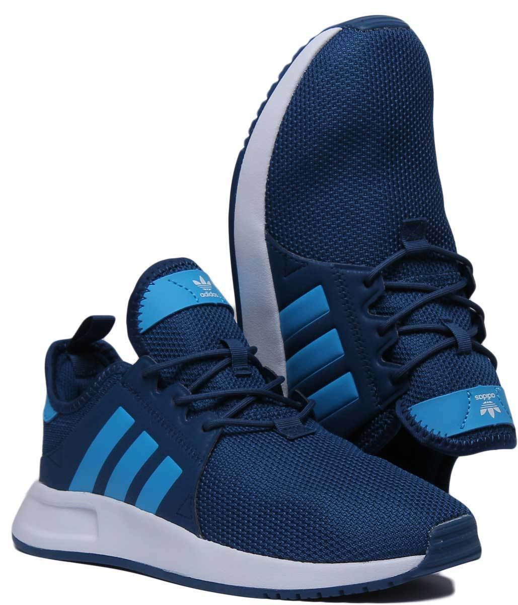 Adidas X-PLR Junior Youth Mesh bluee Trainers UK Size Size Size 3 - 6 cd9a83