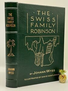 Easton Press SWISS FAMILY ROBINSON Wyss Collectors LIMITED VINTAGE Edition RARE!
