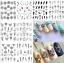 30-Sheets-Charm-Hallowen-DIY-Manicure-Nail-Art-Sticker-Xmas-Decal-Water-Transfer miniature 5