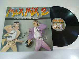 Max-Mix-2-1985-Max-Music-Gatefold-LP-Vinilo-12-034-VG-VG