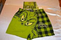 Dr. Seuss the Grinch (glows In The Dark) Men's Boxer Size: X-large (40-42)