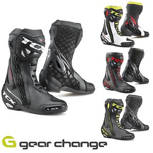 TCX-RT-Race-Motorcycle-Motorbike-Race-Boots