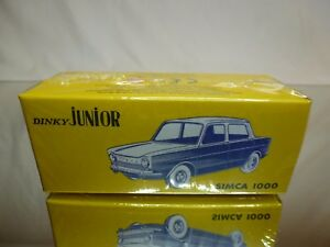DINKY-TOYS-JUNIOR-ATLAS-104-SIMCA-1000-1-43-MINT-IN-UNOPENED-BOX