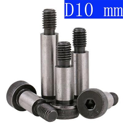 Pack of 10 Socket Shoulder Screws//Shoulder Bolts M8 X 30MM