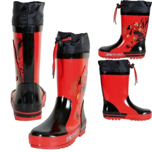 Gummistiefel Regenstiefel Größe 26-33 Rubber boots Spiderman,Gr26-33 Neu
