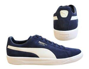 Detalles acerca de Puma Suede Ignite Azul Marino Blanco Encaje Low Top Para  hombre Zapatillas 364069 04 B87B- mostrar título original