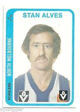 1979 Scanlens (67) Stan ALVES North Melbourne aMint.