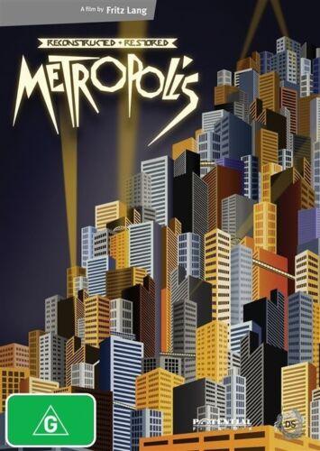 1 of 1 - SEALED Metropolis RECONSTRUCTED & RESTORED (DVD, 2011, 2-Disc Set) FREE POSTAGE