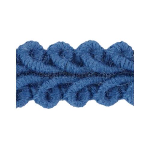 Posamentenborte 11mm 25m Baumwollband Farbauswahl Nähen Deko Band Borte Baumwoll