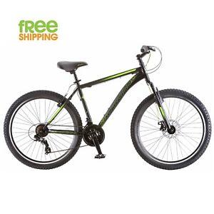 Schwinn-Mountain-Bike-Black-26-034-21-Speed-Disc-Brake-Shimano-Men-Bicycle-New