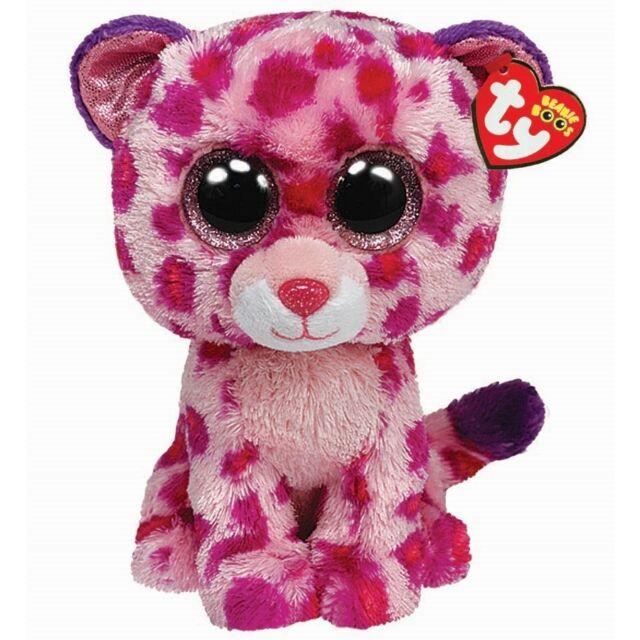 Ty Beanie Boos Glamour the Leopard Boo 36085
