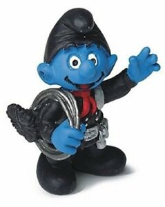CHIMNEY-SWEEP-SMURF-VINTAGE-by-SCHLEICH-FROM-THE-SMURFS-20467