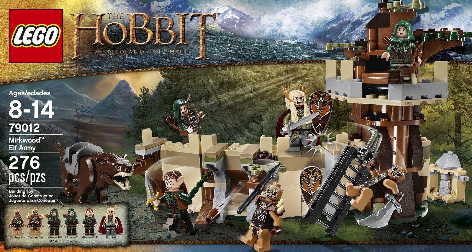 LEGO Il Signore degli Anelli Hobbit-Elfo di Bosco Atro Esercito 79012 BNISB