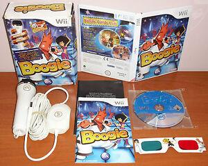 Boogie Microphone Usb Glasses 3d Ea Nintendo Wii Wiiu Pal Spain Full Ebay