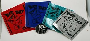 VINTAGE-STICKER-BAD-BOY-CLUB-colors-SKATEBOARD-SURFING-sticker-5-piece-lot