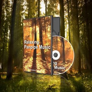 Panpipe-Music-CD-Relaxation-Stress-Sleep-Aid-Nature-Natural-Sounds-Panpipes