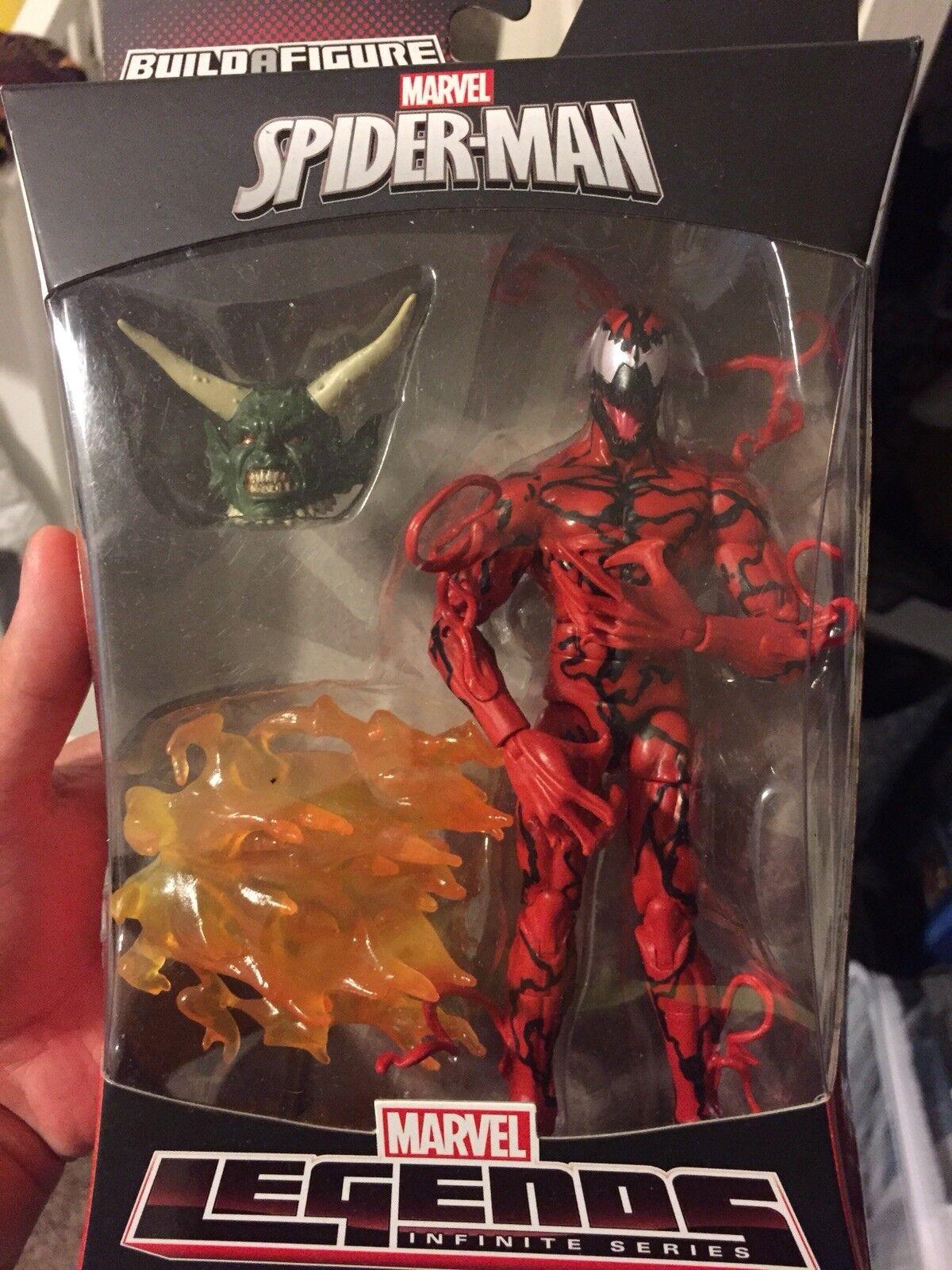 Marvel Legends Carnage Green Goblin BAF