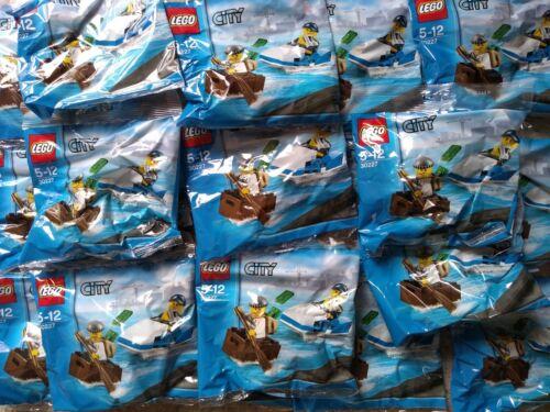 Lego City Police Watercraft Polybags x 20 Joblot BNIP