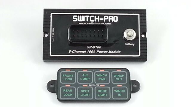Switch-Pros 8 Switch Panel Power System