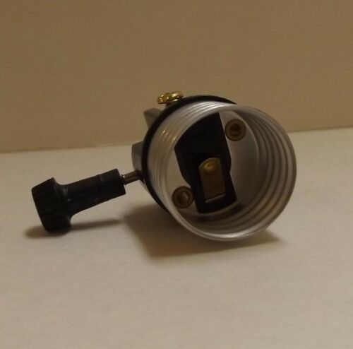 ON//OFF MEDIUM BASE E26 TURN KNOB SOCKET INTERIOR LAMP SOCKET LAMP PART 30680J