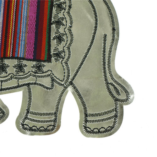 Elephant Sequins Sew On Patches For Clothes DIY Bag Clothing Coat Hot LZ