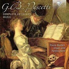 Complete keyboard music-Bottini, Paolo 2 CD NUOVO Pescetti, Giovanni Battista