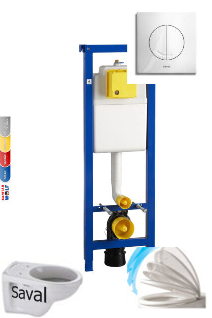 WC Vorwandelement Wisa XS BB 38 Wand WC V&B Tiefspüler Softclose Schallschutzset