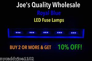 5-ROYAL-BLUE-LED-FUSE-LAMP-8V-VINTAGE-STEREO-RECEIVER-DIAL-METER-Marantz