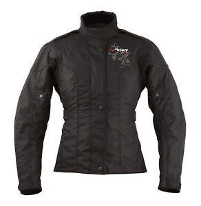 roleff racewear 960 damen textil motorradjacke mit. Black Bedroom Furniture Sets. Home Design Ideas