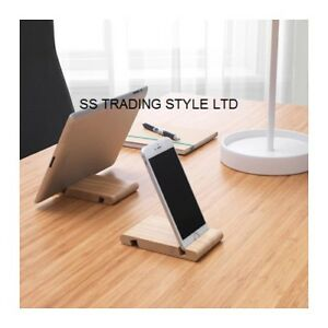 Details About Universal Wooden Mobile Phone Tablet Desk Stand Holder Samsung Iphone Ikea