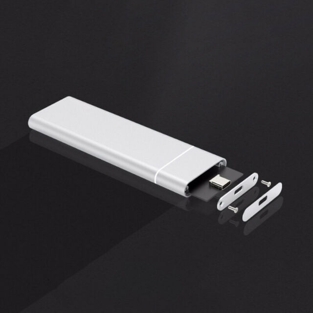 New SSD Case M.2 To USB Enclosure Type C 3.1 Hard Drive Disk Box for M.2