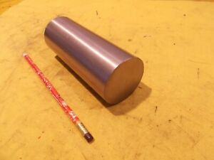 """304 STAINLESS STEEL ROUND STOCK machine shop rod bar 5//8/"""" x 12/"""" OAL"""