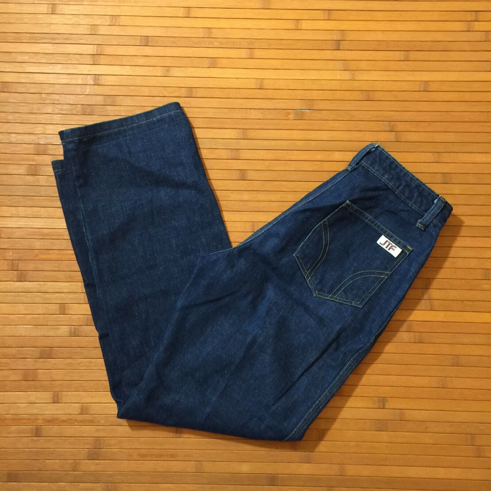 Vintage Sears Jeans That Fit Dark Flare Jeans SZ 12