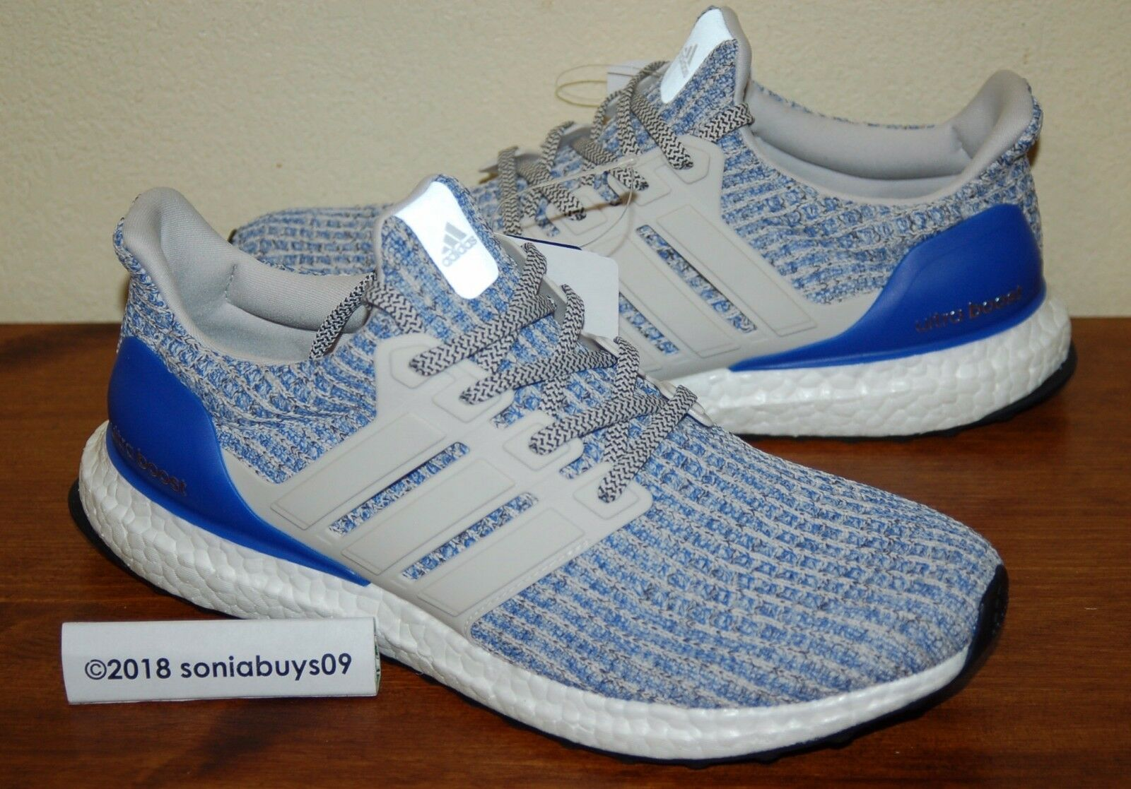 Adidas Men's Sample UltraBoost  Running shoes, CP9249, Chalk White, Size 9  quality guaranteed
