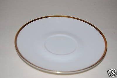 Untertasse 14,5cm Form 2000 Goldrand Gold Rosenthal