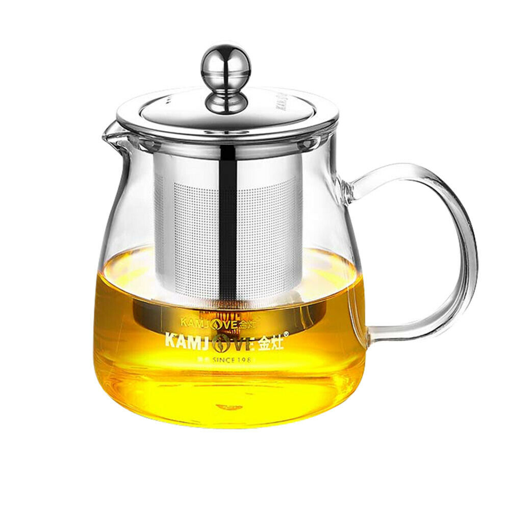 1200ml Kamjove Heat-Resistant Glass Gongfu Tea Maker Art Cup Teapot Infuser A-10