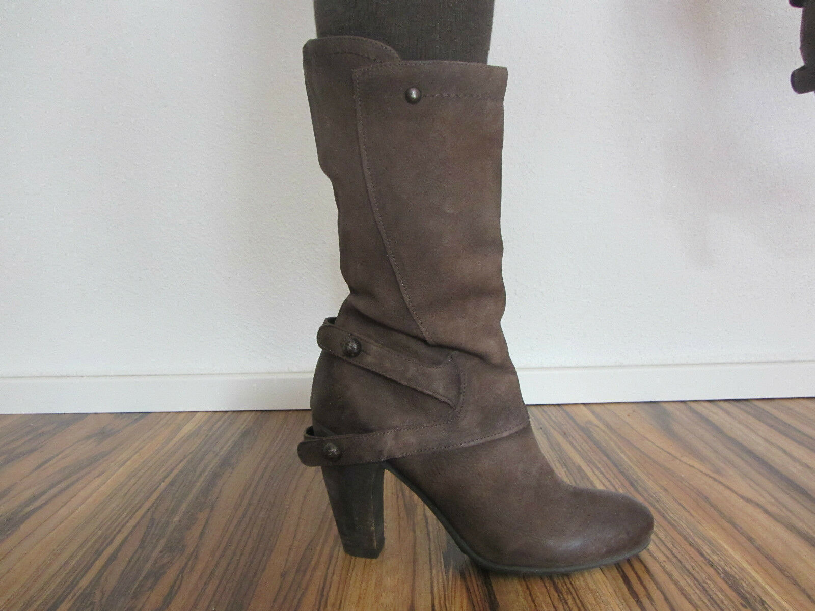 MJUS  Stiefel Leder  Gr. 38  Leder Stiefel Stiefeletten Stiefelette b7ce2d