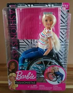 Barbie-Fashionistas-132-fauteuil-roulant-Playset-NEW
