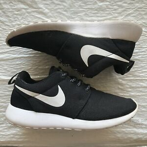 Nike Roshe One Black Running Shoes Womens 5.5 / M 4 *NO BOX*