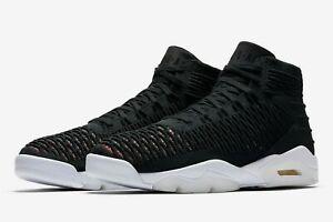 377151527ab Nike Air Jordan Flyknit Elevation 23 Black Red AJ8207-023 Basketball ...